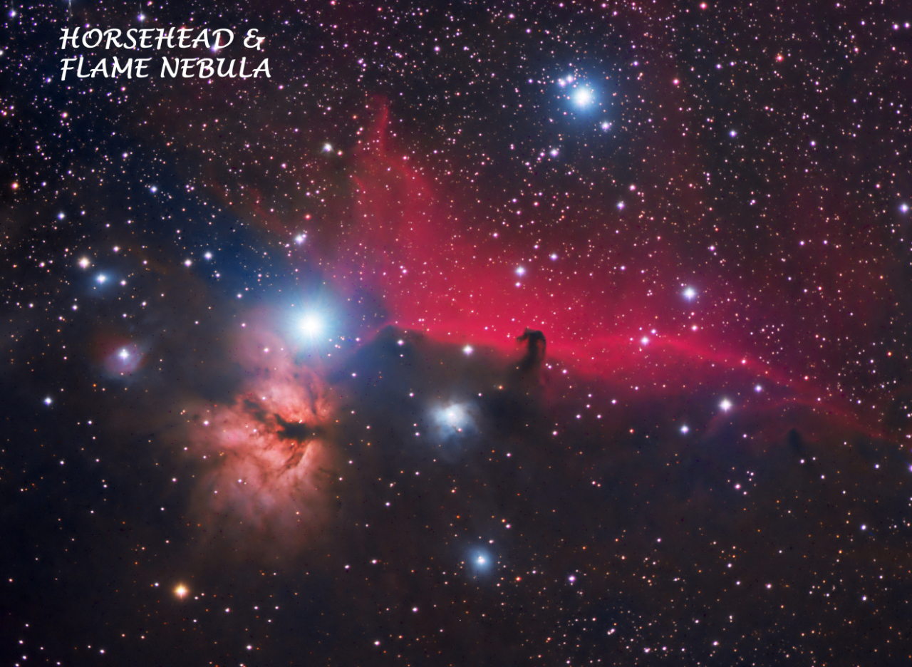 Horsehead & Flame Nebulae