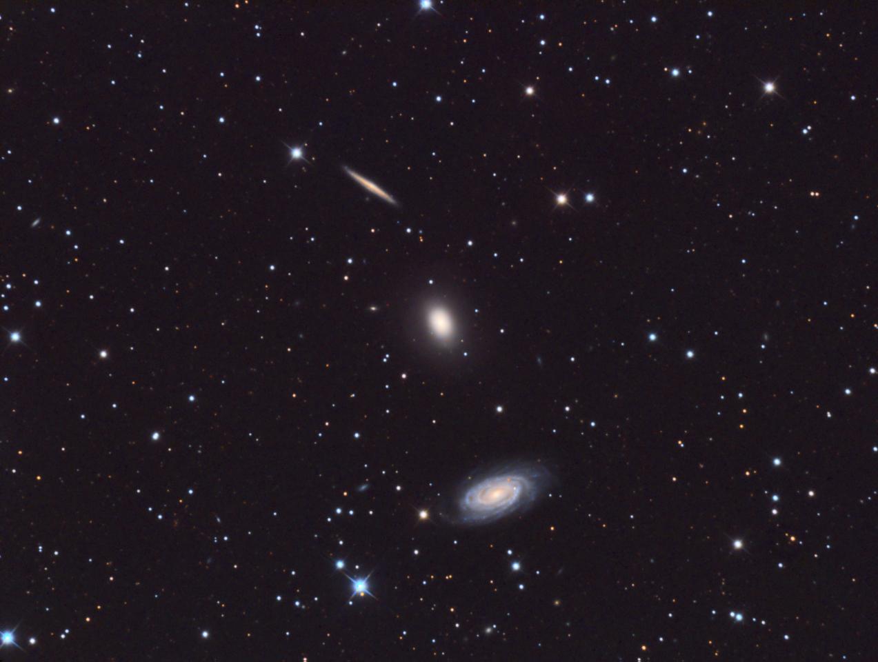 NGC5982 - Draco Trio