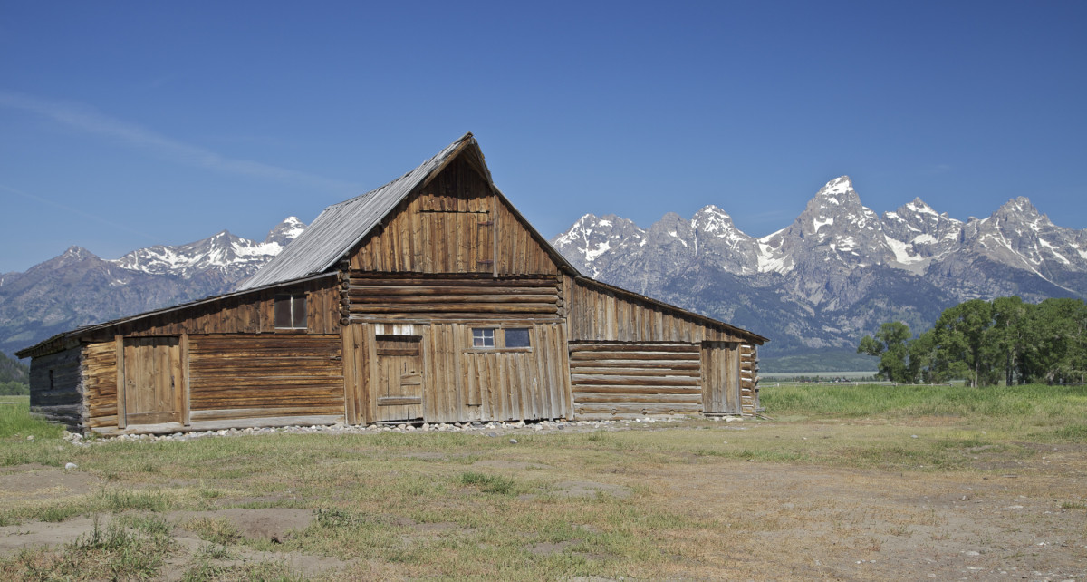 Grand Teton and the Barn