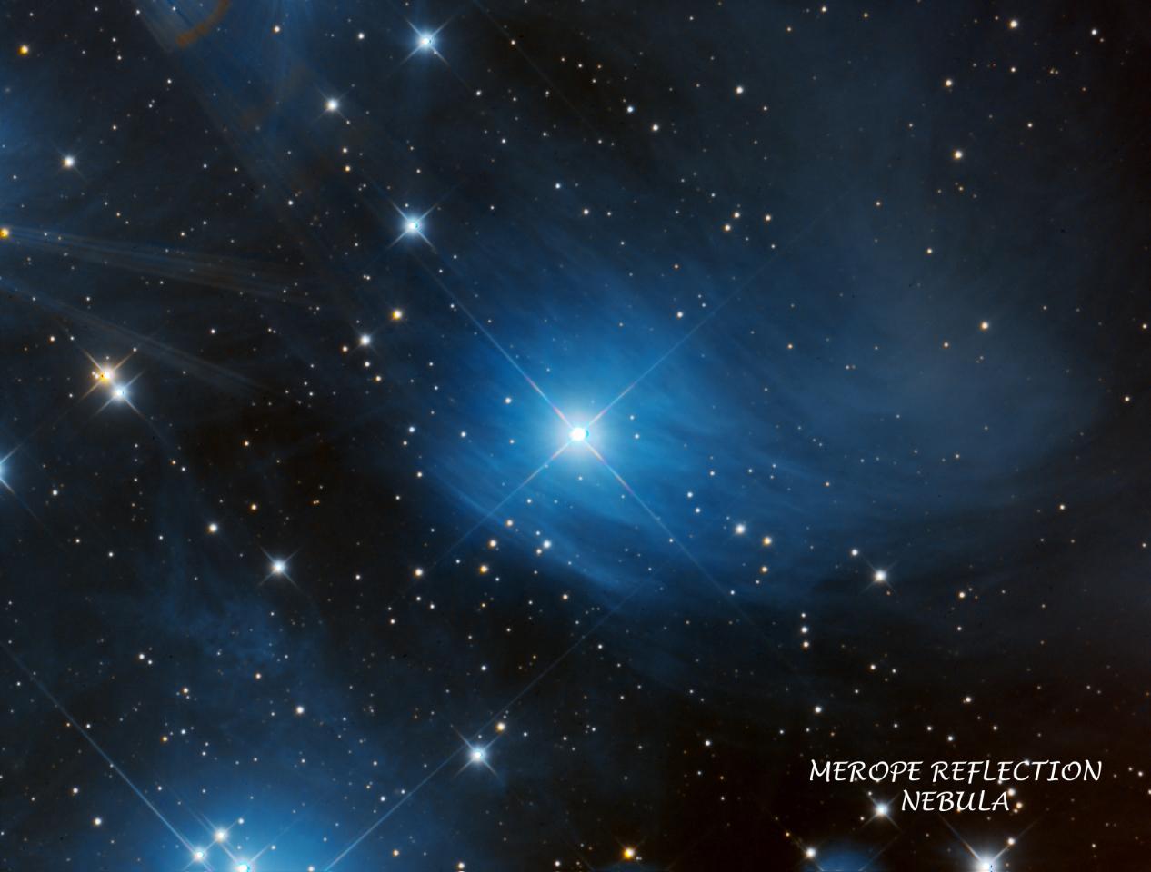Merope Nebula (M45)